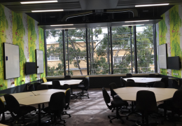 Melbourne Uni – Arts West small project room