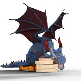 Image of dragon decorative