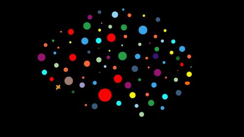 cartoon of a neural network